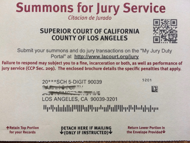What If I Missed Jury Duty California